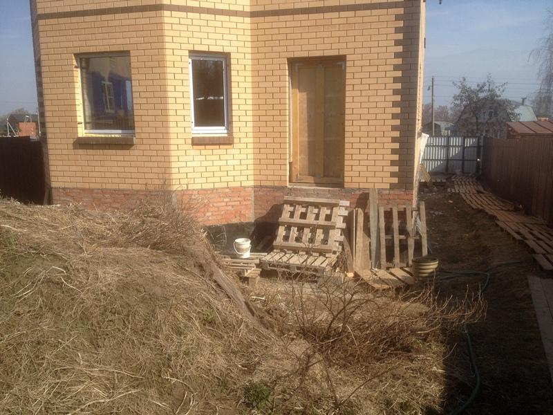 Гидроизоляция фундамента дома. Стоимость работ по гидроизоляции