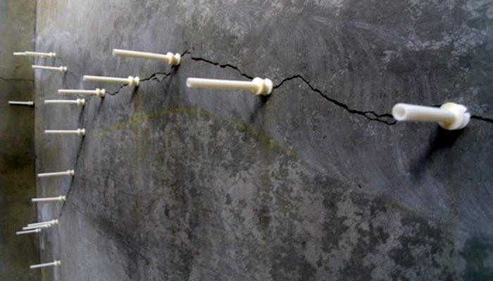 Инъектирование бетона. Гидроизоляция фундамента в Москве