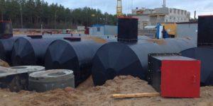 Гидроизоляция пожарных (питьевых) резервуаров