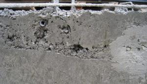 Монолитный железобетон: дефекты бетонных конструкций