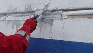 Гидроизоляция деформационных швов в стенах