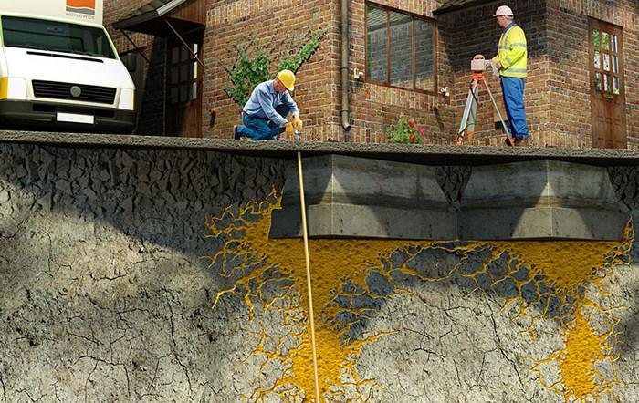 Усиление грунта методом инъектирования