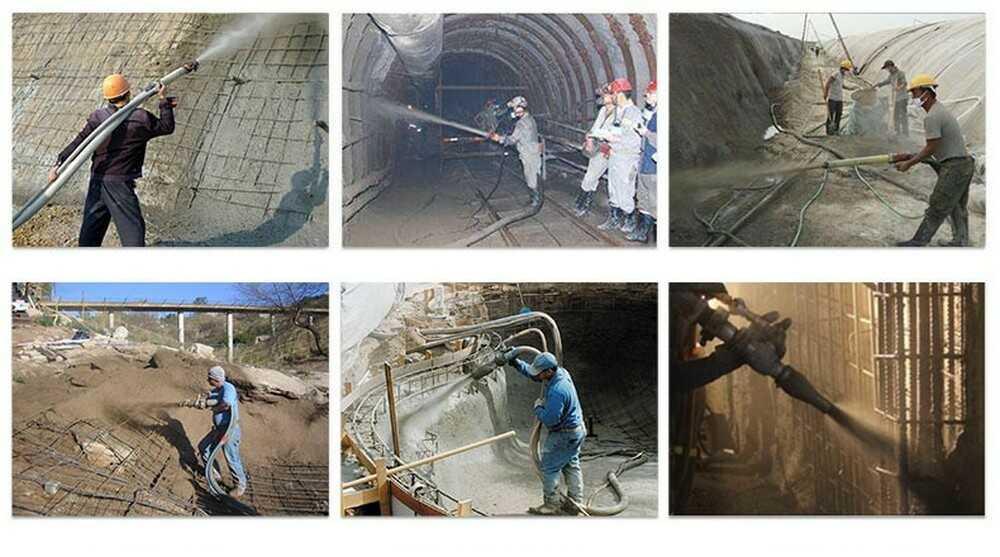 Усиление бетона способом торкретирования в Москве и Московской области