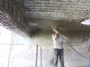 Ремонт и укрепление железобетонных конструкций торкрет бетоном в Москве и МО