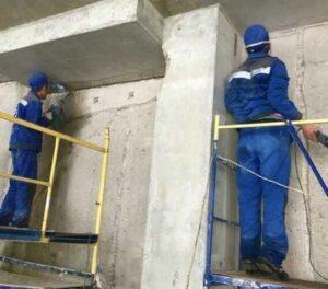 Инъекционная гидроизоляция швов и трещин в бетон в Москве
