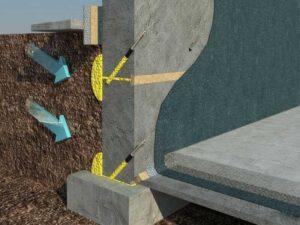 Инъекционная гидроизоляция трещин в монолитном железобетоне. Москва и МО