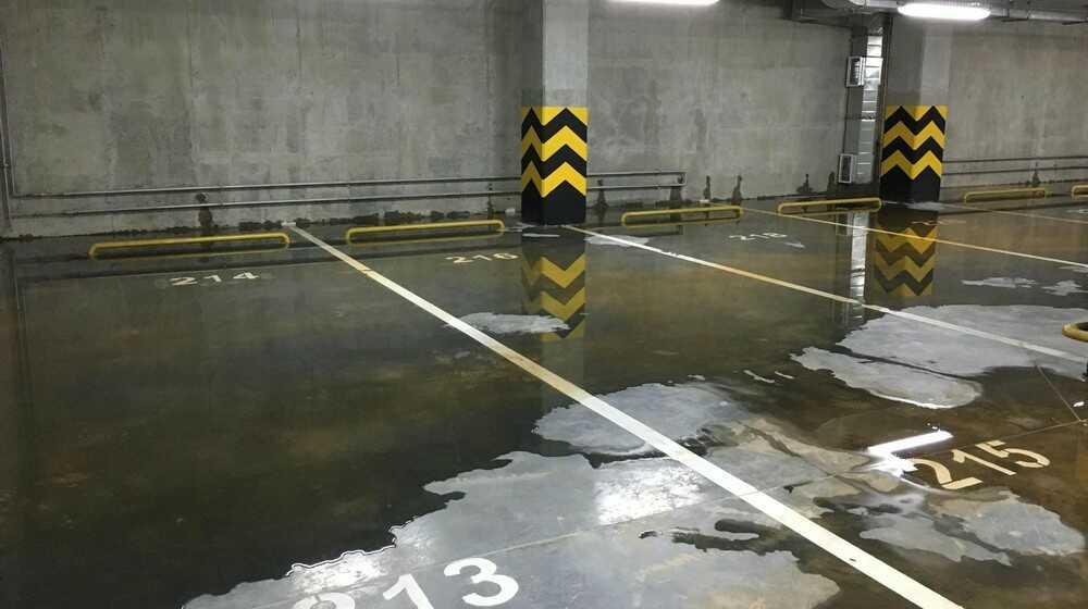 Заказать гидроизоляцию подземного паркинга в Москве и МО