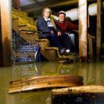 Протечка воды в подвале и как ее устранить