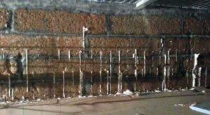Устранение протечек в подвале — метод инъектирования